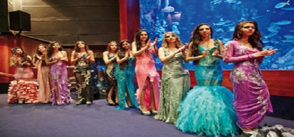 08-04-2013. Elecicon de Miss Gitana en el Aquarium. San Sebastian, Gipuzkoa Foto: Manuel+Diaz+de+Rada