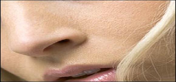 nariz respingada